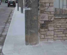 Nuovi marciapiedi… ma non per tutti