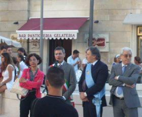 Inaugurata la nuova piazza Assunta a Martano