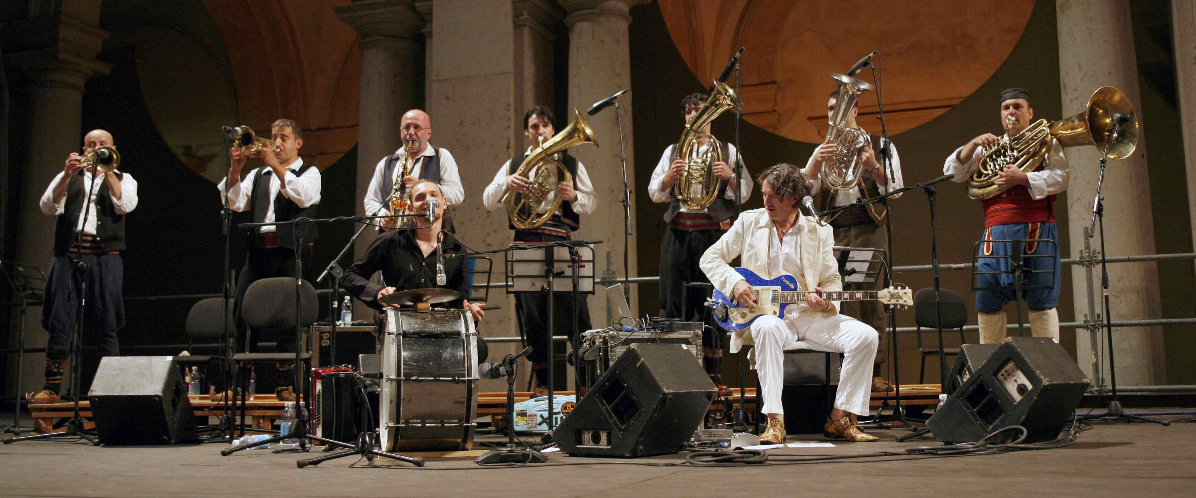 Risultati immagini per Goran Bregovic & The Wedding and Funeral Band