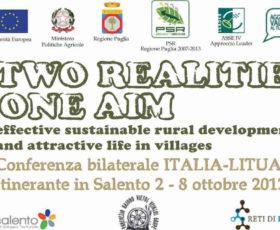 Italia – Lituania: il GAL Isola Salento promuove una conferenza bilaterale