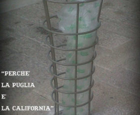 L'altra faccia del Premio Teknè: cestini nuovi in Piazza Assunta