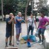 Martano: volontari puliscono la villa comunale