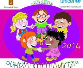 Olimpiadi dell'amicizia 2014: a palazzo adorno a Lecce la presentazione del nuovo bando di partecipazione