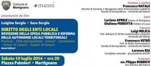SABATO 19 LUGLIO 2014,  ore 20:00   -  Palazzo Palmieri - Martignano