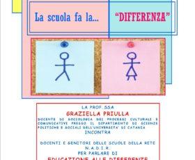 """La Scuola fa la … """"Differenza"""""""
