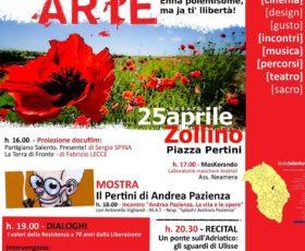 LiberArte: il 25 Aprile a Zollino