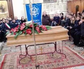 I funerali del vicecomandante della Polizia Locale, Antonio Campa