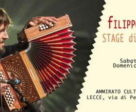 Stage di organetto diatonico condotto da Filippo Gambetta