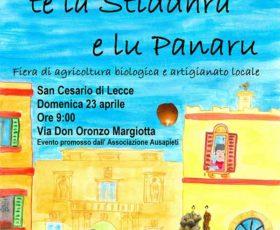 La prima fiera sostenibile di San Giuseppe a San Cesario di Lecce
