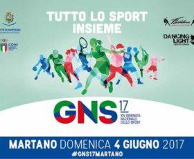XIV Giornata Nazionale dello Sport a Martano
