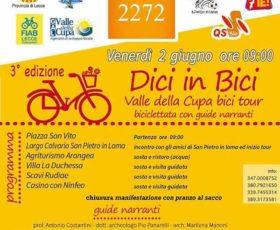 """""""Dici in bici"""" biciclettata con guide narranti"""