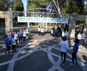 A Castrignano dei Greci il saggio finale delle scuole di ginnastica dolce della Provincia, affiliate alla Uisp