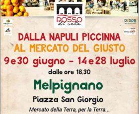 """A Melpignano """"ROSSO DI SETA"""": Dalla Napuli Piccinna al Mercato del Giusto"""