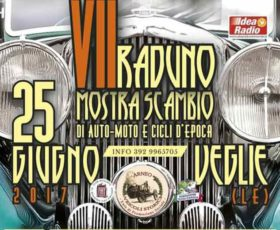 Torna a Veglie il raduno di Auto, Moto e Cicli d'epoca