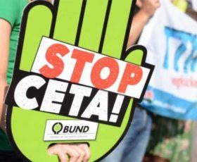 CETA: migliaia di agricoltori in piazza Montecitorio a Roma