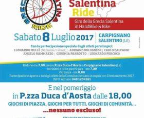 Grecìa Salentina Ride: il Giro della Grecia in Handbike & Bike a Carpignano Salentino