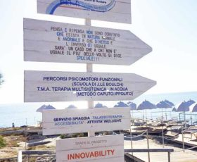Una spiaggia tutta accessibile: ad Andrano è realta