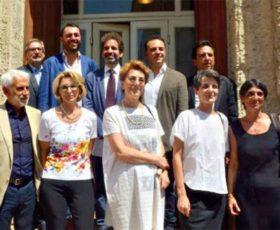 Il Sindaco Salvemini presenta la nuova giunta di Lecce