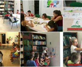 """Laboratorio di disegno e puzzle-book realizzati dai volontari del progetto di SCN di Martano """"Meletò"""""""
