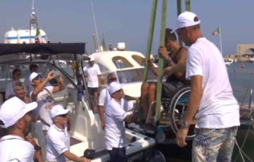 "San Foca, ""Un mare per tutti"" grazie a NavigAbile"