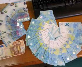 Smerciano banconote false nel gallipolino, smascherati due campani