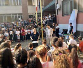 """Il sindaco Salvemini e l'assessore Guida incontrano alunni e docenti dell'Istituto """"Ammirato-Falcone"""""""