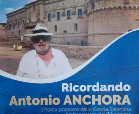 Anniversario della morte di Antonio Anchora, ambasciatore dell'ellenismo nel mondo
