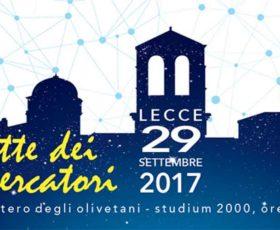 """""""La notte dei ricercatori"""": L'Università del Salento apre le porte alla città"""