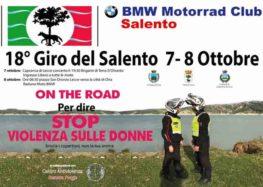 Giro del Salento in moto per dire no alla violenza sulle donne