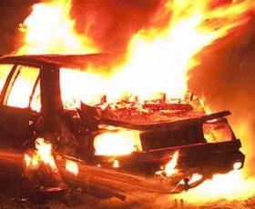 Scia di incendi nel Salento. Distrutta l'auto di un imprenditore a Sannicola