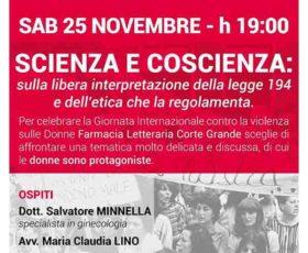 """""""A luci rosse"""" scienza e coscienza: discussione sulla legge 194"""