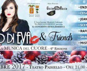 """A Lecce concerto di solidarietà: """"Il Peccato di Eva & Friends – La Musica del Cuore"""""""