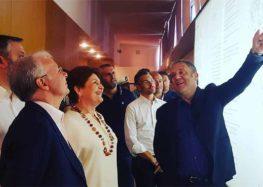 Visita del Vice Ministro Bellanova alle aziende di Terra d'Arneo