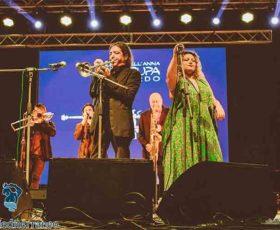 Gli Opa Cupa in concerto alla Festa de lu Focu di Zollino