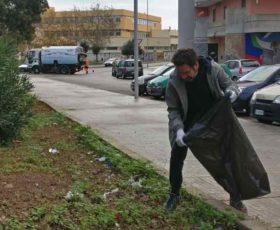 Continua l'iniziativa Quartieri Puliti: Piazzette e vie ripulite nella zona 167b