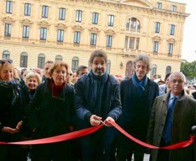 Tagliato il nastro alla Porta Falsa del Castello Carlo V di Lecce