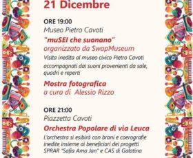"""""""Orchestra Popolare di via Leuca"""" e """"Swapmusem"""" per la rassegna ORCHESTRARCI"""